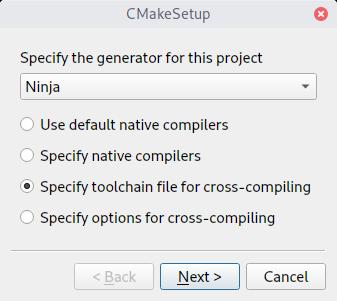 Configuring and building a distortos-based project • distortos