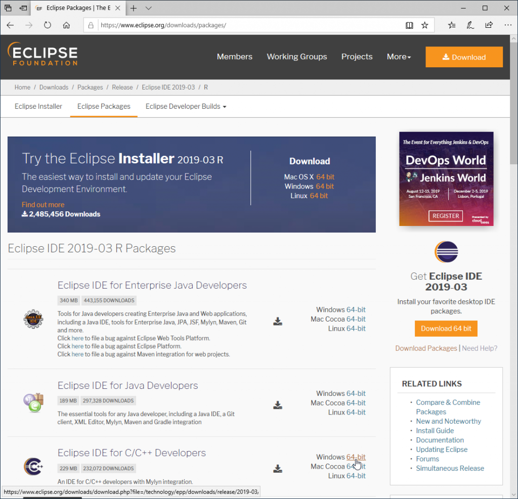 Eclipse Download For Windows 10